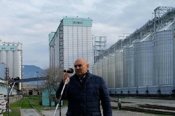 Самый крупный в России зерновой портал открыли в Новороссийске