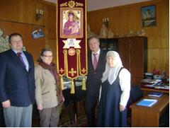 Главе управы Хамовников вручили воинское знамя