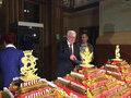 За золотым тортом в Исторический музей выстроилась 300-метровая очередь