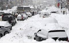 Снежный покров достиг рекорда для апреля