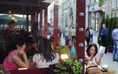 В столице выросло число сезонных кафе